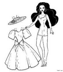 最美丽最简单的公主裙